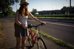 自転車通勤での紫外線対策