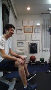 男性のトレーニング