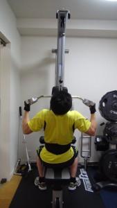 肉体改造背中
