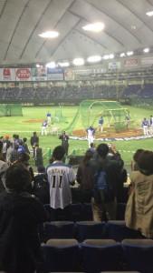 プレミア12韓国打撃練習